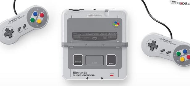 Nintendo 3DS con diseño de SNES sólo llegará a Japón