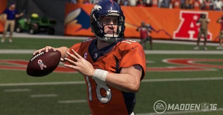 <em>Madden NFL</em> rinde tributo a Peyton Manning
