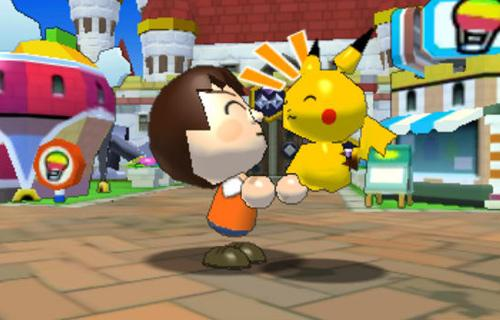 La interacción con los pokémon de juguete es entretenida