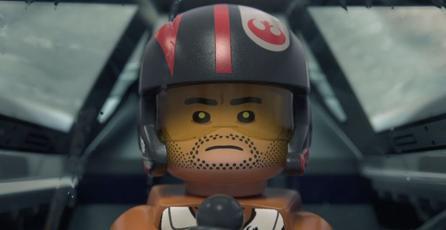 Trailer de <em>LEGO Star Wars</em> muestra a Poe Dameron