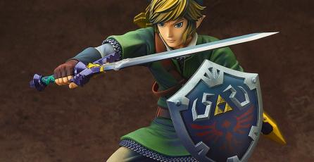 Presentan figura de colección de <em>Zelda: Skyward Sword</em>