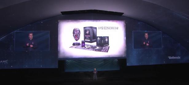 Ésta es la edición de colección de <em>Dishonored 2</em>