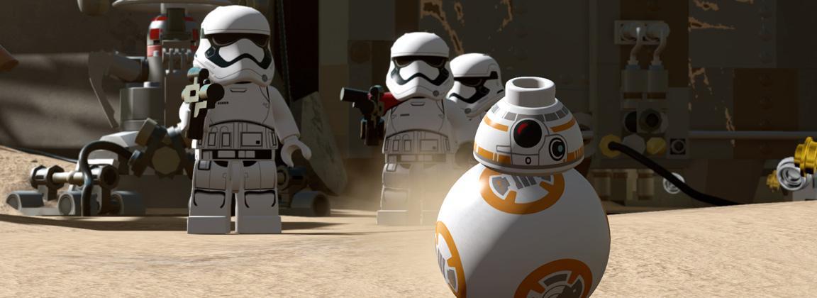 LEGO Star Wars: The Force Awakens tiene una presentación que te encantará