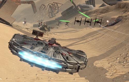 Las batallas en las naves no le piden nada a Star Wars Battlefront