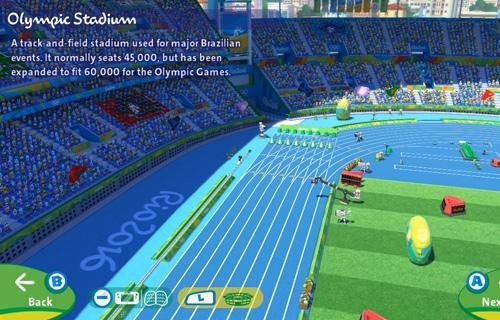 Hay información muy útil sobre los recintos olímpicos
