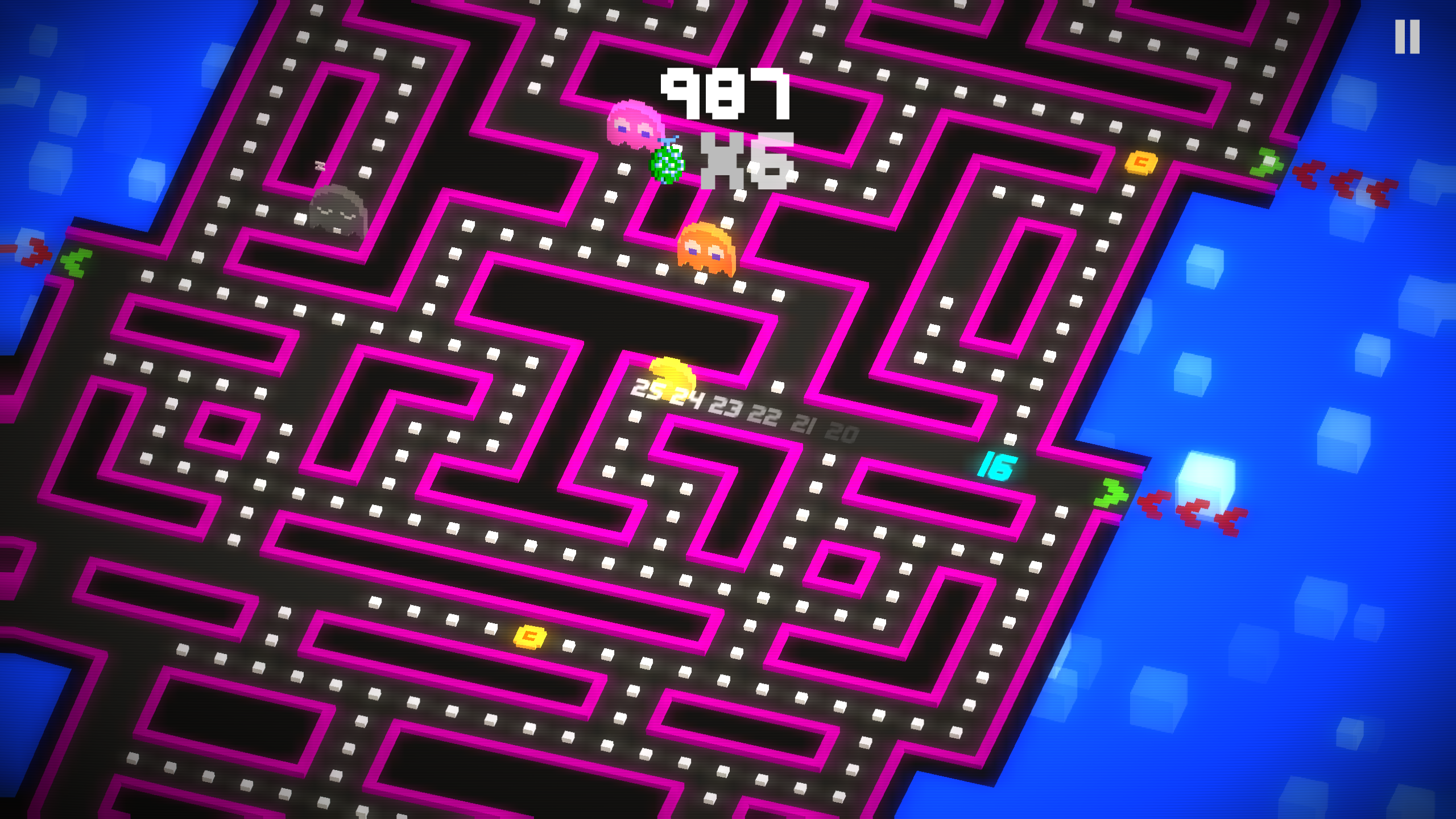 Pac-Man 256 - LevelUp