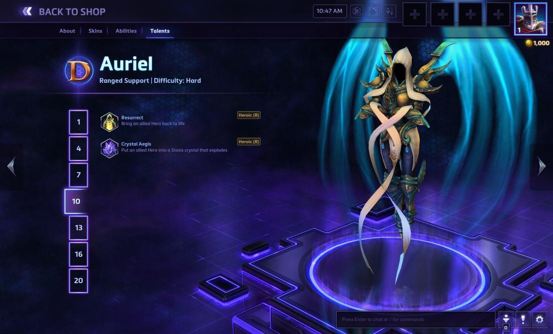 Nuevas imágenes de Auriel