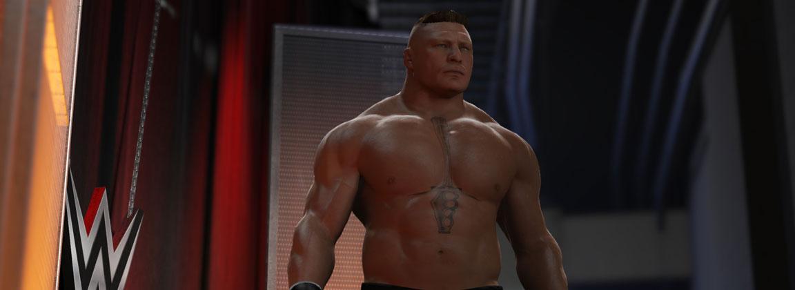¿Listo para que Brock Lesnar te lleve a Suplex City?