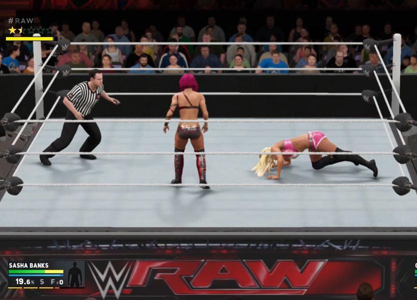 WWE 2K17 tiene que mejorar su presentación