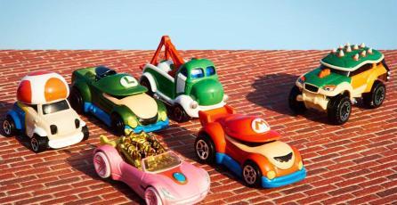 Nintendo anuncia <em>Hot Wheels</em> de Super Mario