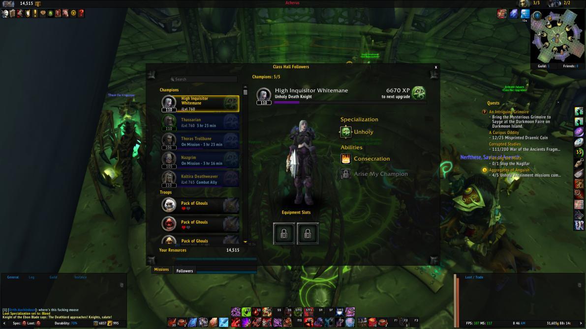 <em>World of Warcraft: Legion</em> en imágenes