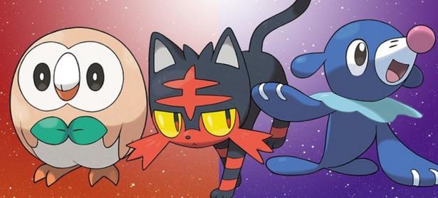 Revelan las evoluciones finales de los Pokémon iniciales de <em>Sun &amp; Moon</em>