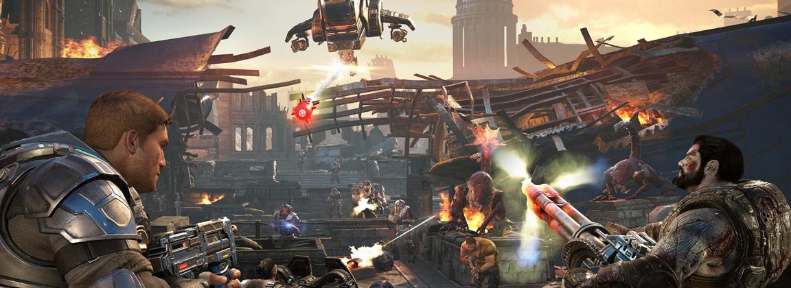 Con el modo Horda 3.0, The Coalition quiere demostrar que Gears of War 4 es el rey de los cooperativos