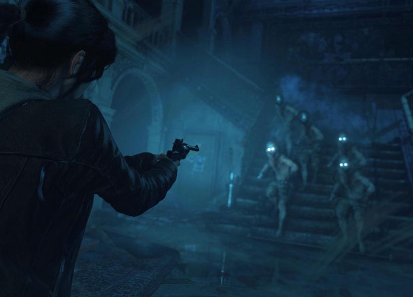 A Lara Croft también le tocará enfrentar zombis