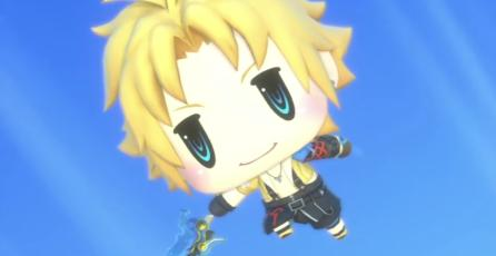 Ve a Tidus en el nuevo gameplay de <em>World of Final Fantasy</em>