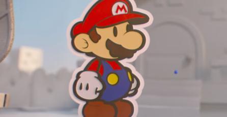 Checa los nuevos avances de <em>Paper Mario: Color Splash</em>