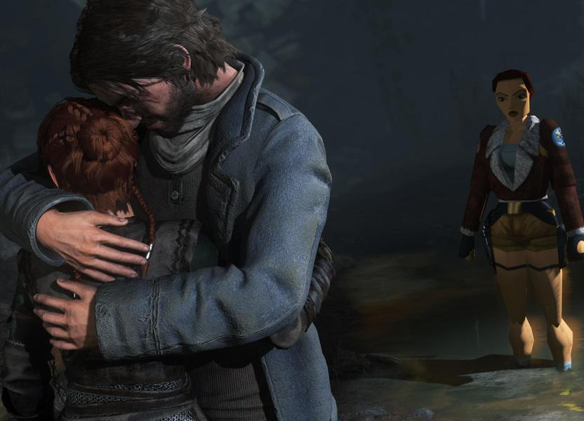 Los skins dan un toque lleno de nostalgia a Rise of the Tomb Raider