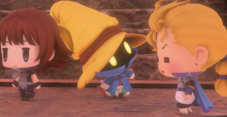 Publican comparativa de <em>World of Final Fantasy</em> en PS4 y Vita