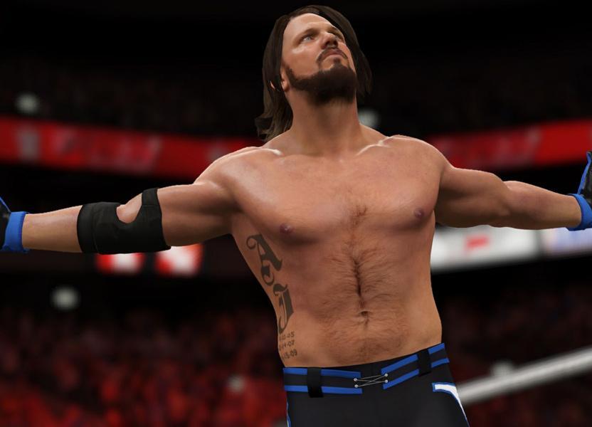 El roster de WWE 2K17 está actualizado