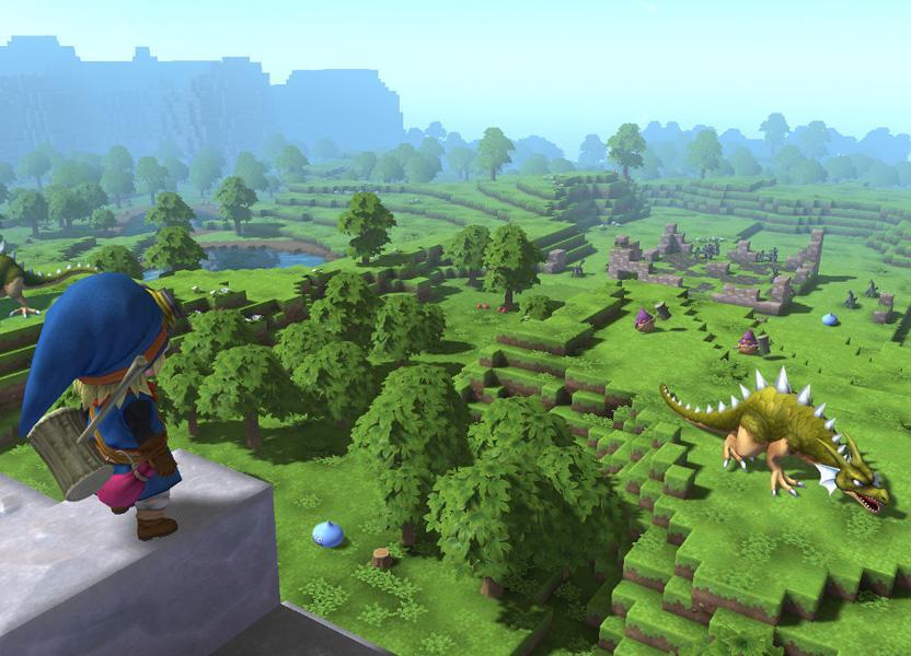 En Dragon Quest Builders encontrarás un mundo abierto lleno de monstruos que han salido en la serie principal