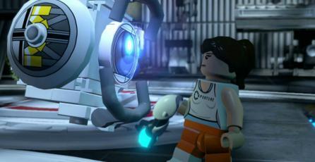 Encuentran easter egg de <em>Portal</em> en <em>LEGO Dimensions</em>