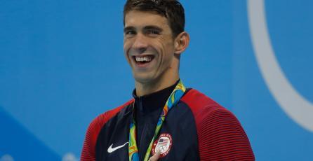 Michael Phelps entregará uno de los premios de The Game Awards 2016