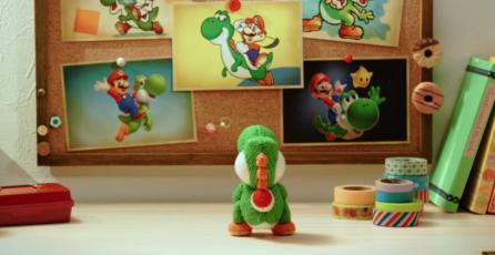 Liberan adorable animación de <em>Poochy &amp; Yoshi's Woolly World</em>
