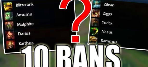 League of Legends: Riot Games aumenta a 10 bans de campeones para el Pro competitivo