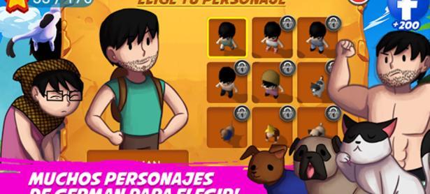 <em>German Quest</em>: El Youtuber ya tiene su propio juego para Android