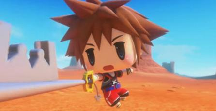 Sora ya está disponible en <em>World of Final Fantasy</em> en Japón