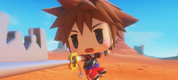 Sora ya está disponible en <em>World of Final Fantasy</em> en Japón
