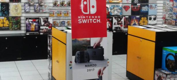 Comienzan a aparecer primeras señaléticas de Nintendo Switch en tiendas chilenas