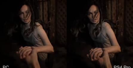 Comparativa gráfica <em>Resident Evil 7</em>: PC vs PS4 Pro