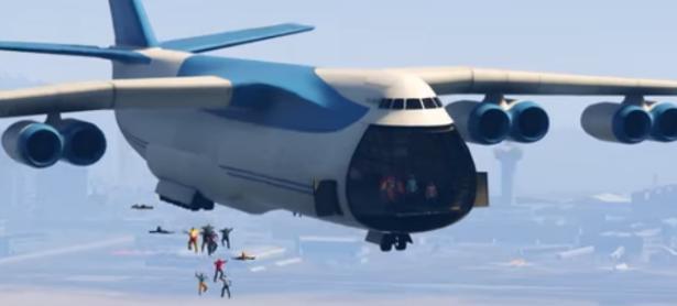 ¿Como reaccionan 100 personas a bordo de un avión en <em>GTA V</em>?