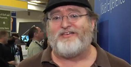 Gabe Newell prefiere los entornos abiertos para trabajar en VR