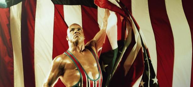 El atleta olímpico Kurt Angle podría volver al ring de la WWE