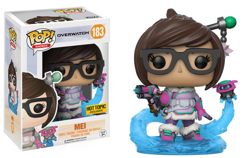 Estos son los Funko Pop! de <em>Overwatch</em>
