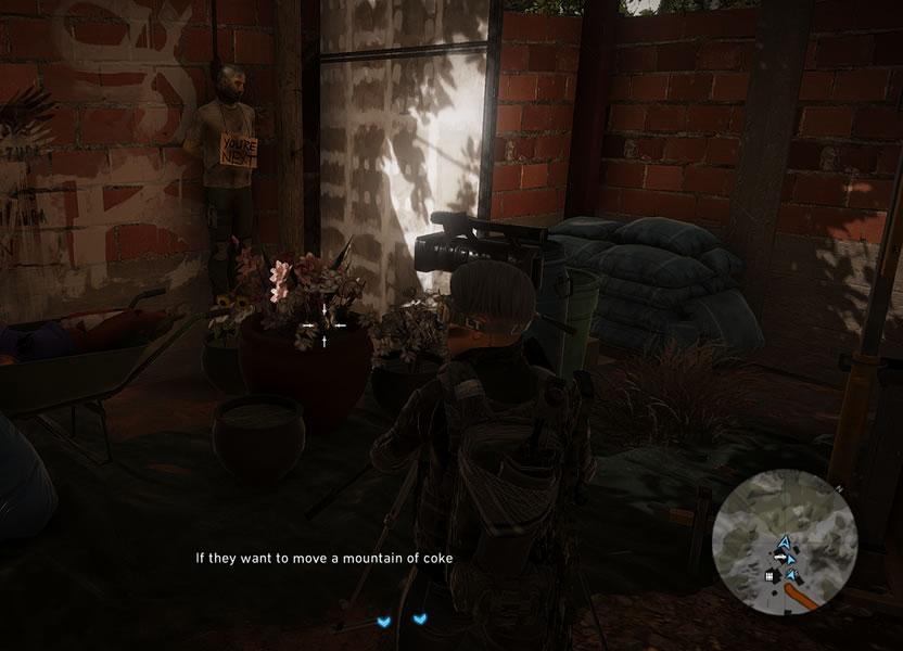 El juego tiene momentos macabros y otros cómicos