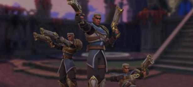 Lex, la Mano de la Justicia, se une al reino de <em>Paladins</em>