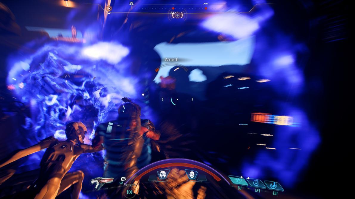 <em>Mass Effect: Andromeda</em>: El combate