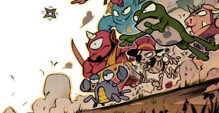 Podrás jugar con Wonder Girl en <em>Wonder Boy: The Dragon's Trap</em>