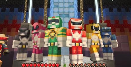 Skins de los Power Rangers llegan a <em>Minecraft</em>