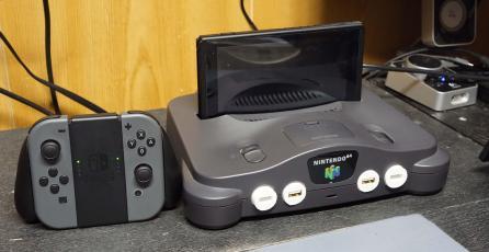 Modder convierte la Nintendo 64 en un dock para Switch