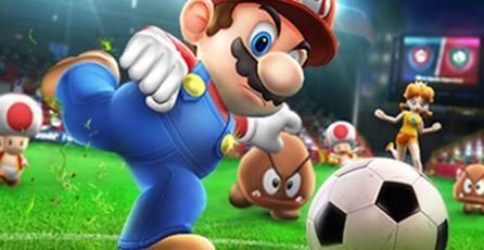 Anuncio de bebida energética con Mario y compañía