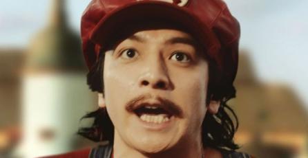 Lanzan peculiares anuncios de Mario para una bebida en Japón