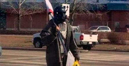 Policía confunde a cosplayer de <em>Fallout</em> con terrorista