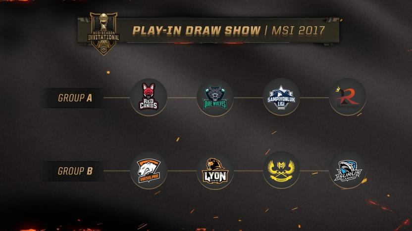 Mid-Season Invitational groups