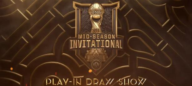 Se revelan los 2 grupos a participar en la 1ra fase de la Mid-Season Invitational 2017