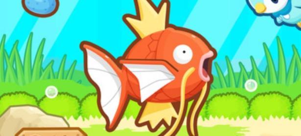 Nuevo juego de Pokémon <em>Magikarp Jump</em> sale de sorpresa en iOS