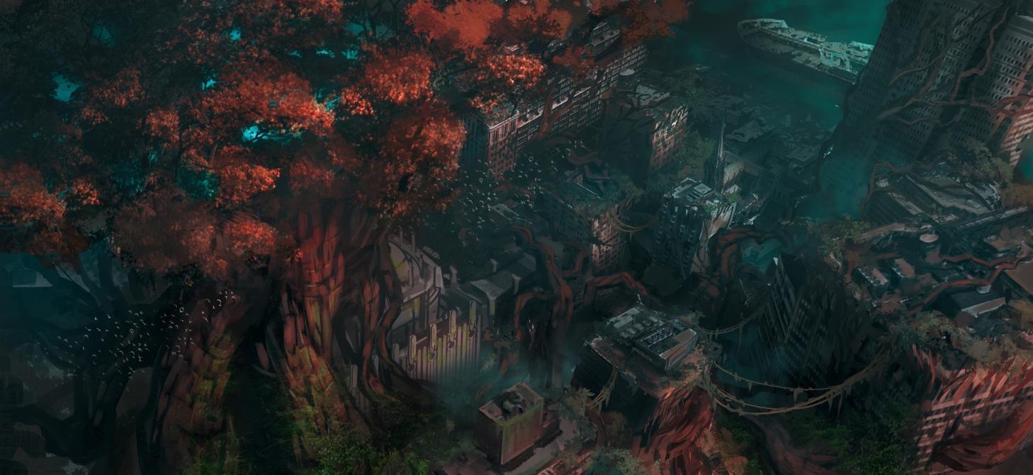 Revelan arte conceptual de <em>Darksiders III</em>
